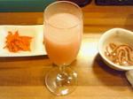 桃色の日本酒