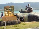 川平湾の像